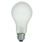 Sunlite 01082 200 Watts A21 Frosted Standard A-Shape Bulb 200A/FR Case of 48