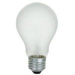 Sunlite 01083 50 Watts 130 Volts A19 Frosted Rough Service Standard A-Shape Bulb 50A/FR Case of 120