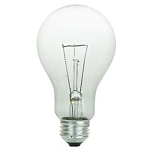Sunlite 01086 150 Watts A21 Clear Standard A-Shape Bulb 150A/CL Case of 48