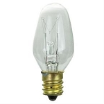 Sunlite 01620 10 Watts Clear C7  Mini  Bulb Candelabra Base 10C7/CL Case of 25