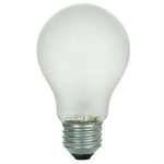 Sunlite 02065 60 Watts A19 Frosted Tuff Skin A-Shape Bulb 60A/FR/TS Case of 12