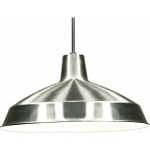 Nuvo Lighting SF76/661 Warehouse Shade, Brushed Nickel