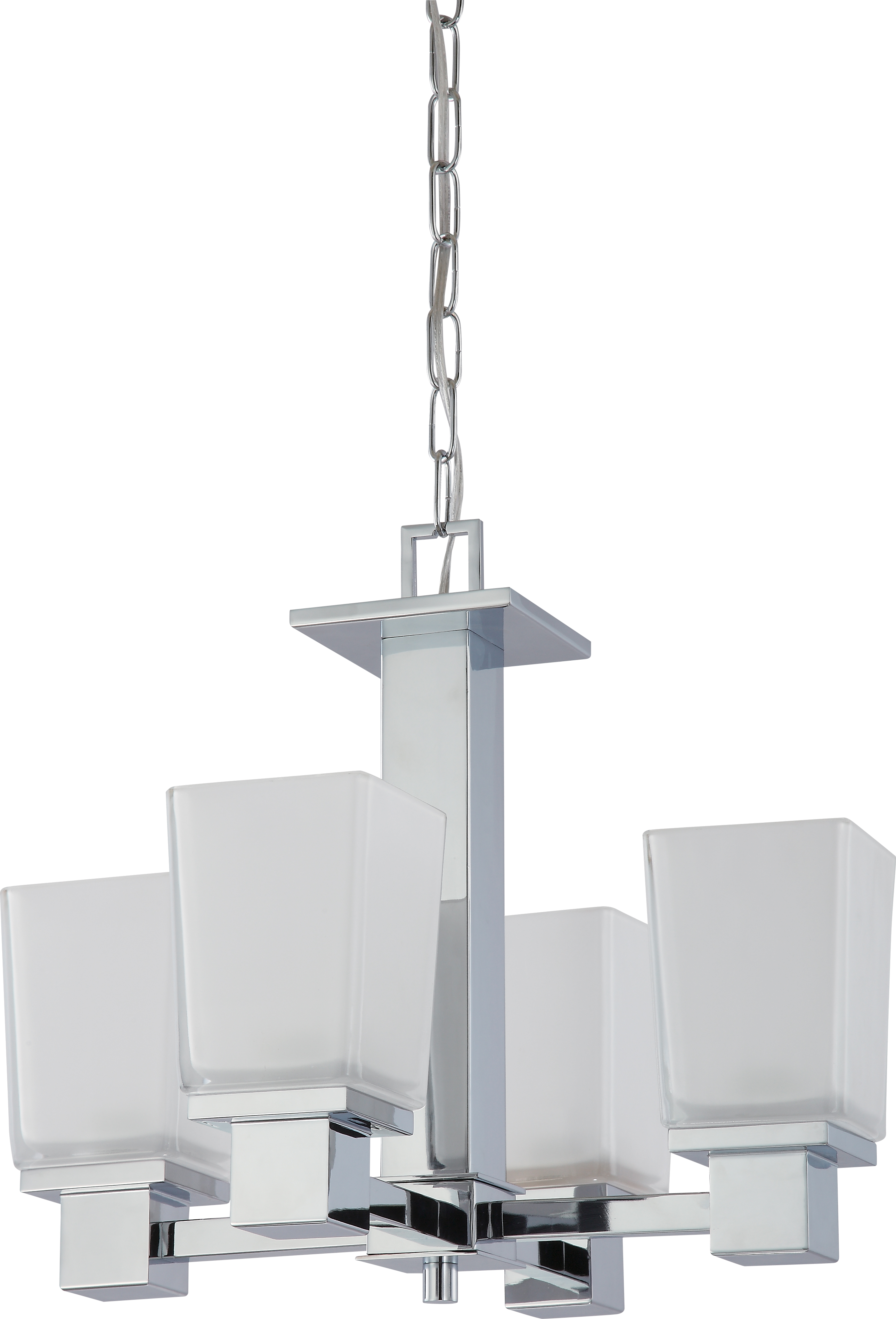 Nuvo Lighting 60 4005 Parker 4 Light Chandelier With