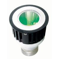 Sunlite 80216 3 Watts 1 LED JDR  MR16 Green 120 Volts Medium E26 Base JDR3MR16/E26/G