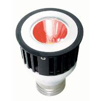 Sunlite 80226 3 Watts 1 LED JDR  MR16 Red 120 Volts Medium E26 Base JDR3MR16/E26/R