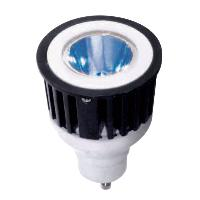 Sunlite 80212 3 Watts 1 LED JDR  MR16 Blue 120 Volts GU10 Base Mini Reflector JDR3MR16/GU10/B SUNLITE  Unit