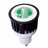 Sunlite 80217 3 Watts 1 LED JDR  MR16 Green 120 Volts GU10 Base Mini Reflector JDR3MR16/GU10/G SUNLITE