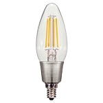 Satco S9570 4.5 Watt LED CANDLE 2700K CTC/LED/27K/120V Candelabra Base