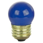 Sunlite 01220 7.5 Watts Blue S11  Mini  Bulb Medium Base 7.5S11/B Case of 25