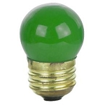 Sunlite 01225 7.5 Watts Green S11  Mini  Bulb Medium Base 7.5S11/B Case of 25