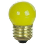 Sunlite 01230 7.5 Watts Yellow S11  Mini  Bulb Medium Base 7.5S11/Y Case of 25