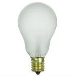 Sunlite 02051 40 Watts A15  Frosted Appliance Bulb 40A15/N/FR Case of 12